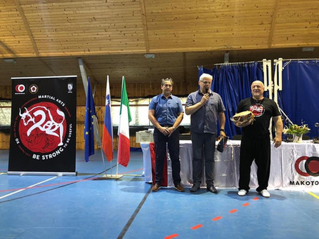 International Martial Arts seminar of Bohinj is started