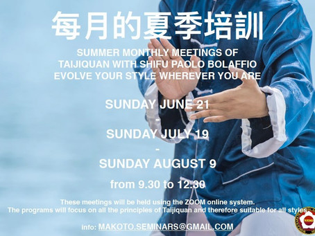 Seminario estivo di Tai Chi - 2