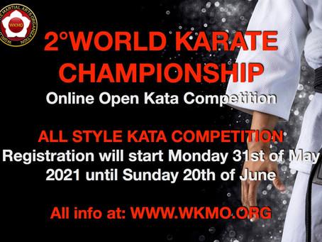 2nd WORLD KARATE OPEN CHAMPIONSHIP ONLINE