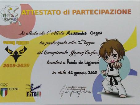 "Torneo ""Young Eagles"" di Taekwondo"