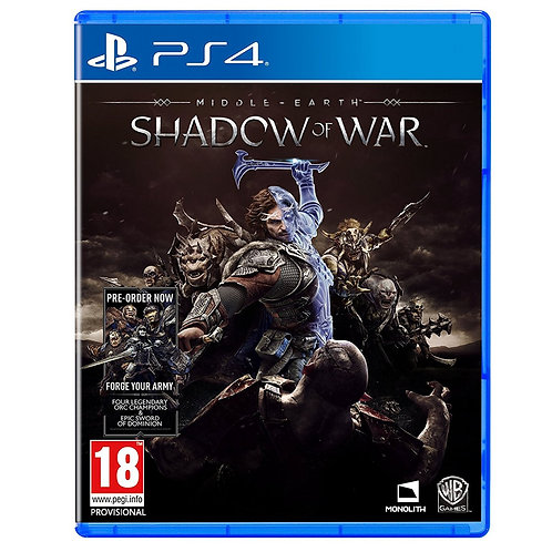 Middle-earth: Shadow of War PS4 - R2