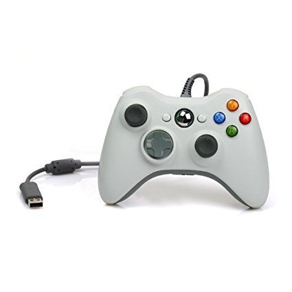 MicroSoft Xbox 360 Controller For Windows White