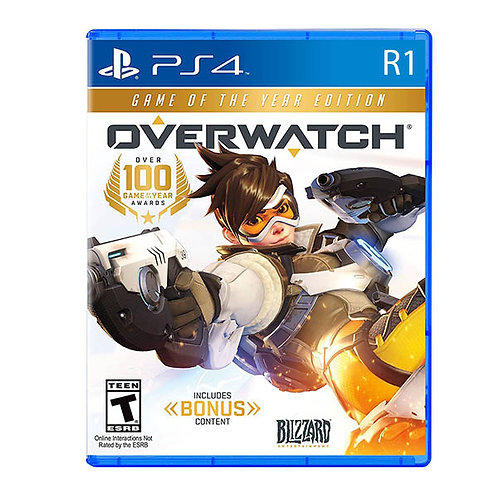 Overwatch Game Of The Year Edition for PS4 - R1