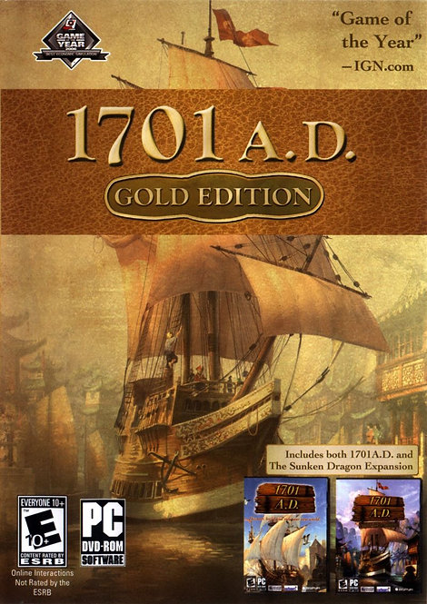 ANNO 1701 A.D. Gold Edition