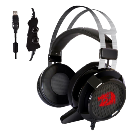 Redragon  SIREN2 7.1 Channel Surround Stereo Gaming Headset Over Ear