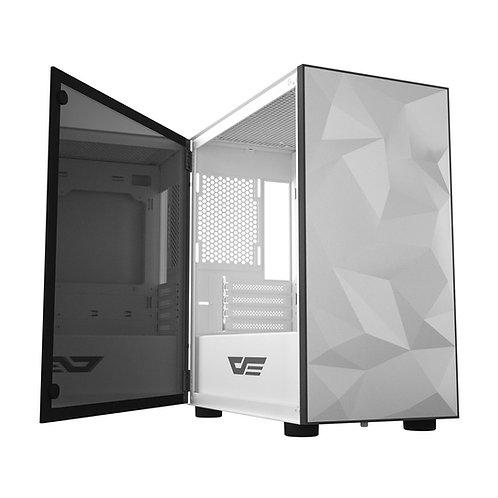 AIGO DARKFLASH DLM21 M-ATX Gaming Case - White