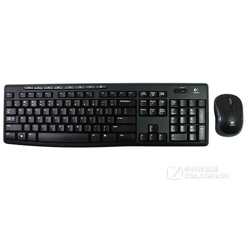 Logitech Wireless Keyboard & Mouse MK270 with Nano Receiver (ArabicEnglish)