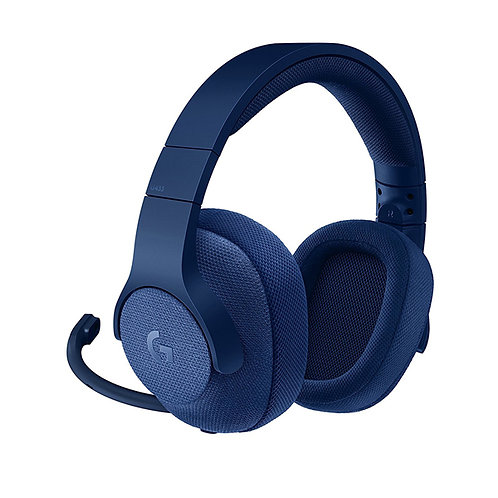 Logitech G433 7.1 Wired Gaming Headset with DTS Headphone - Royal Blue