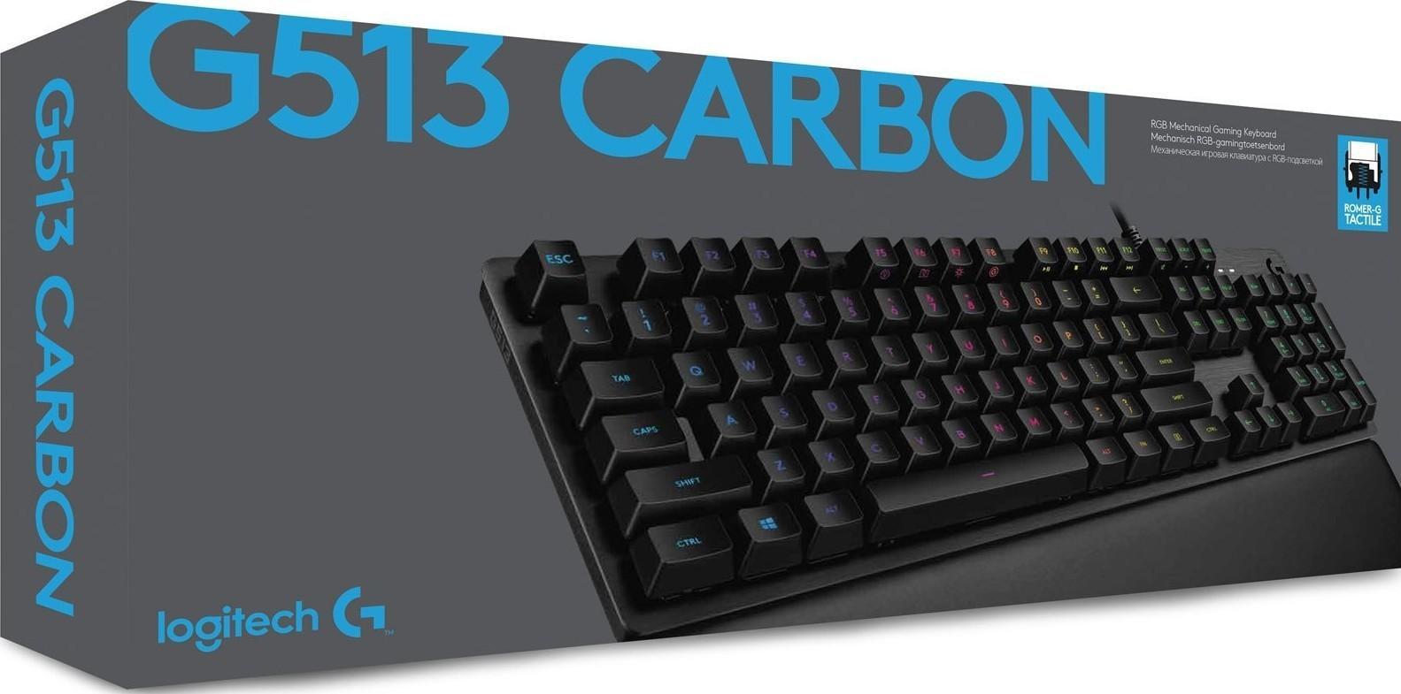 0480ebffd07 Logitech G513 Carbon RGB Mechanical Gaming Keyboard- Tactile Switch ...