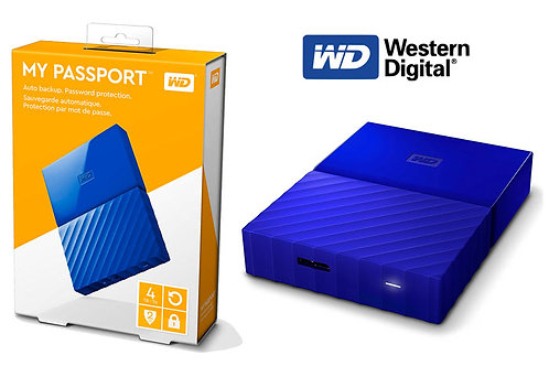 WD MY PASSPORT 4 TB WIRED EXTERNAL HARD