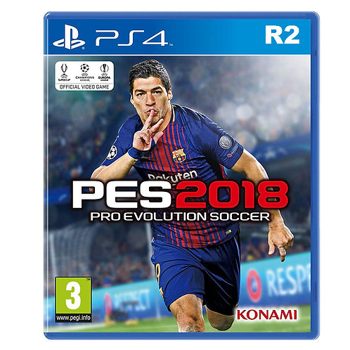 PES 2018 Game for PS4 - R2