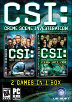Csi 2 Game in 1 Box