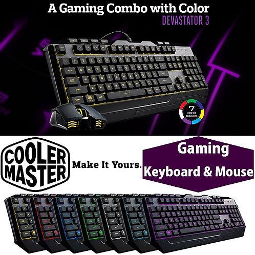 Coolermaster DEVASTATOR 3 Gaming Combo - US