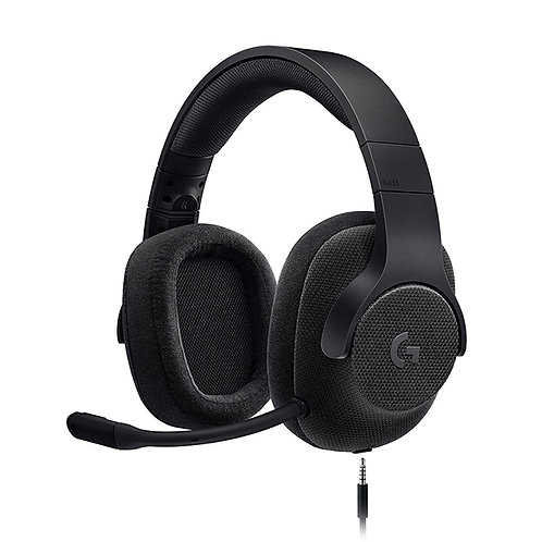 Logitech G433 7.1 Wired Gaming Headset with DTS Headphone - Tripple Black