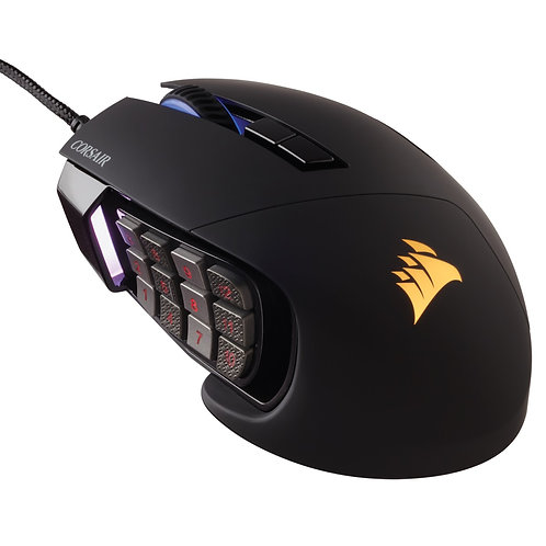 Corsair Scimitar PRO RGB Optical Black Gaming Mouse