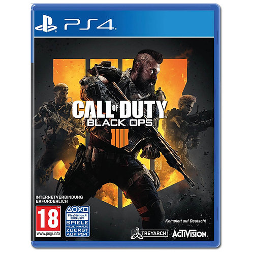 Call of Duty Black Ops 4 PS4 - Arabic