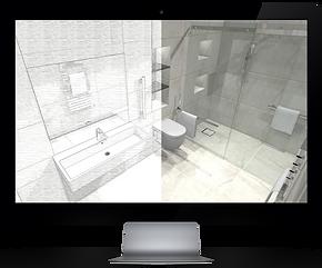 3D Bathroom design Reading, Newbury, Thatcham