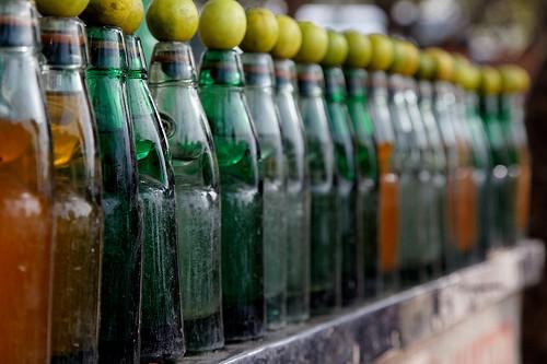 Summer fun... Enjoy a lime soda
