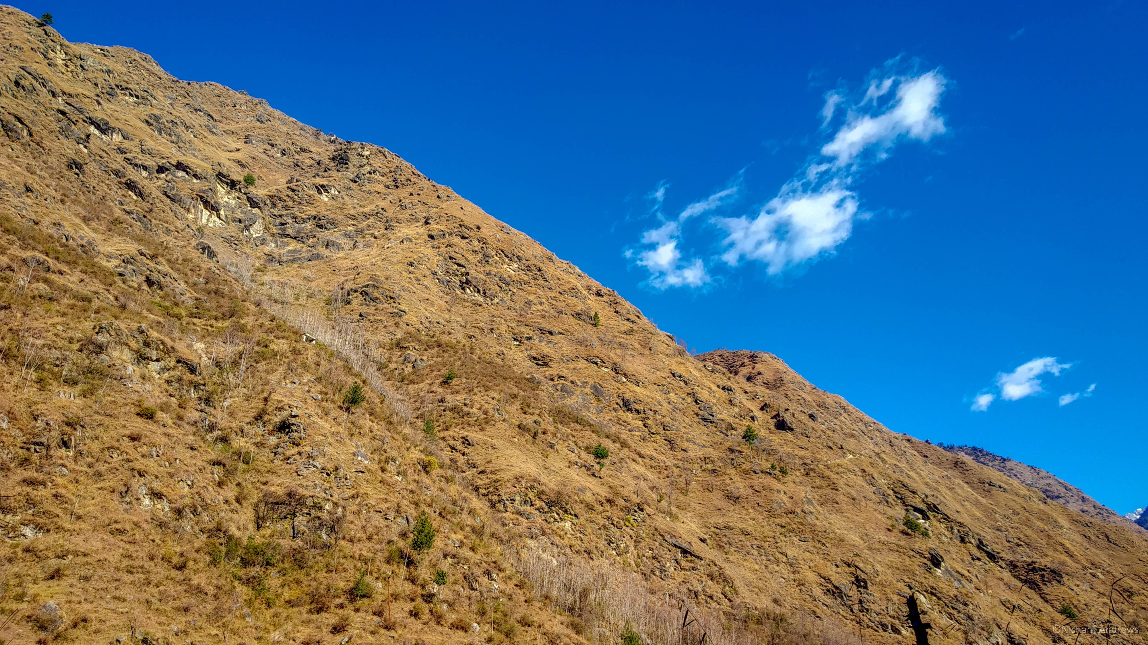 Mountainscape, Himachal Pradesh
