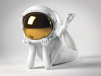 Dreamer remybond sculpture