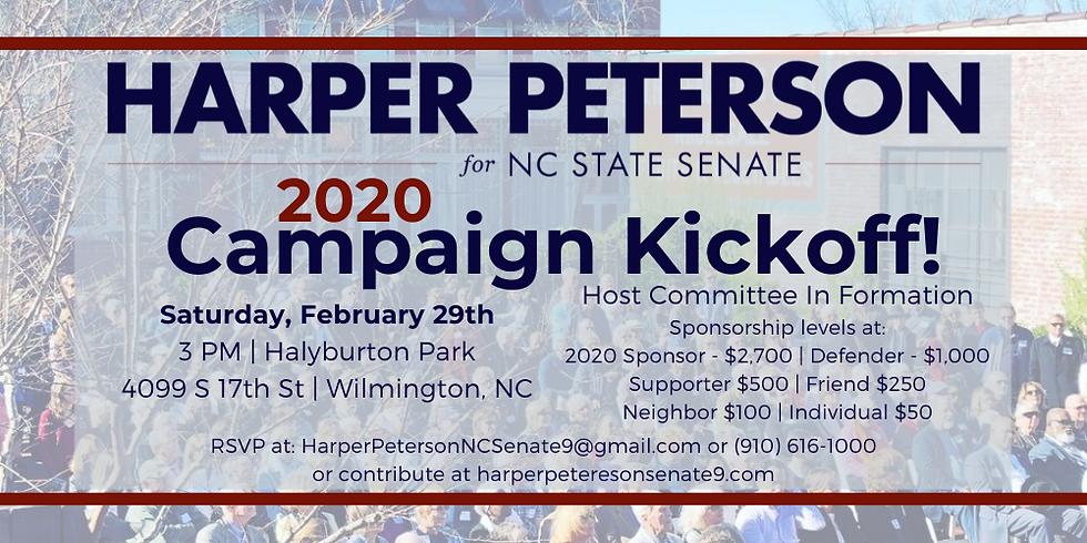 2020 Campaign Kickoff