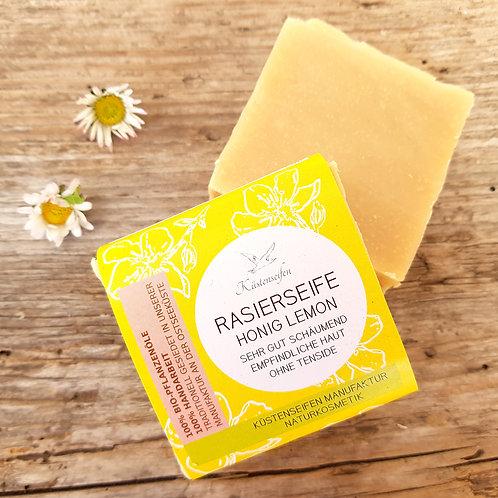 RASIERSEIFE Honig und Lemon