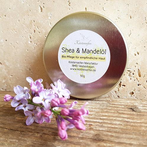 Sheabutter mit Mandelöl