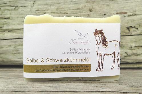 Bio Pferdeseife, Shampooseife für Pferde, Mauke, Ekzem, Fliegen, Milben
