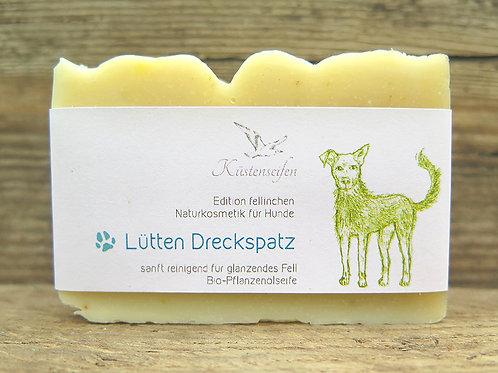 "Hundeseife / Hunde Shampoo-Seife  ""Lütten Dreckspatz"""