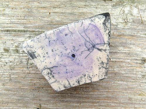 Keramik Seifenschale - RAKU [klein]