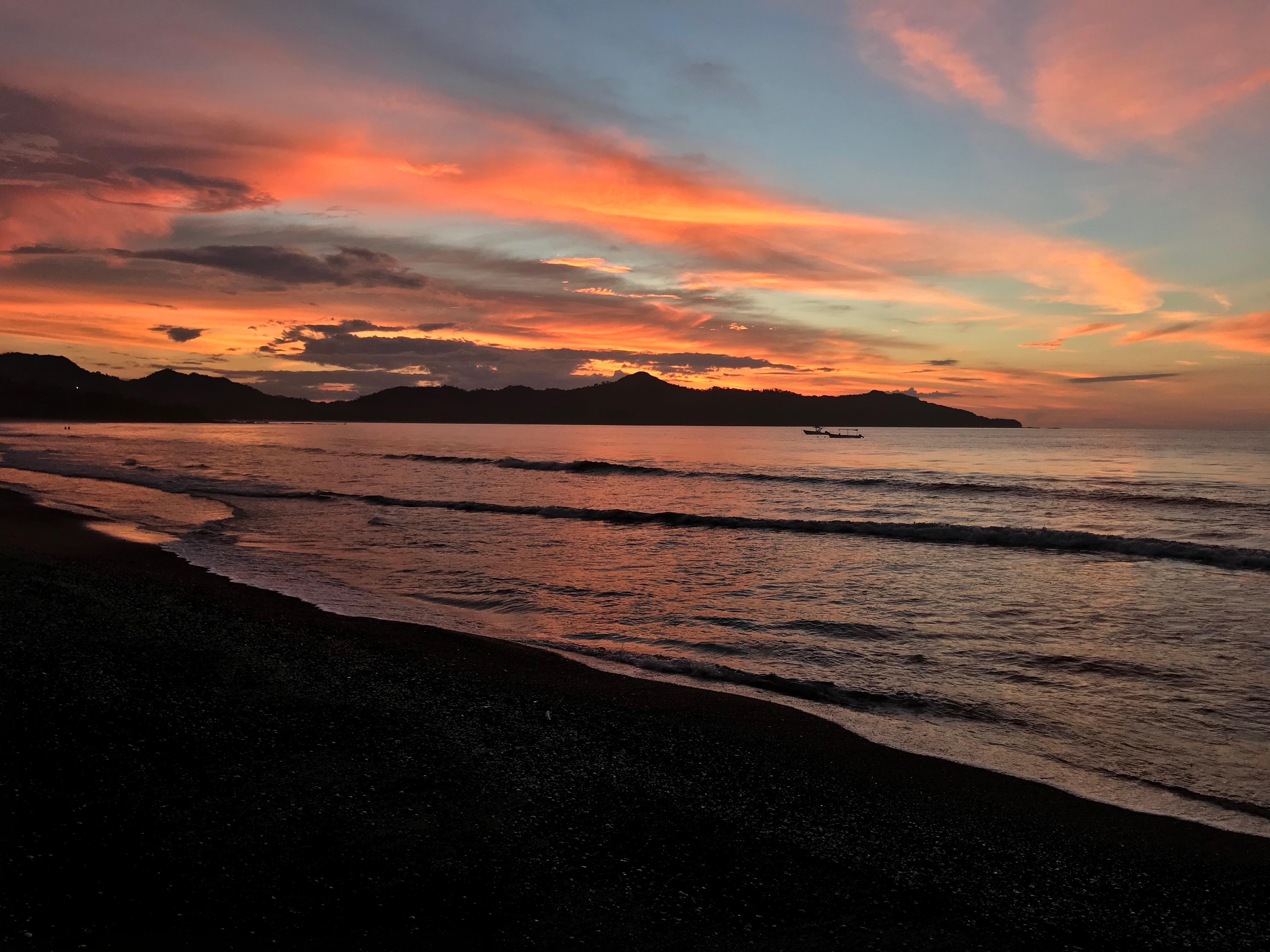 Sunset at PLAYA BRASILITO