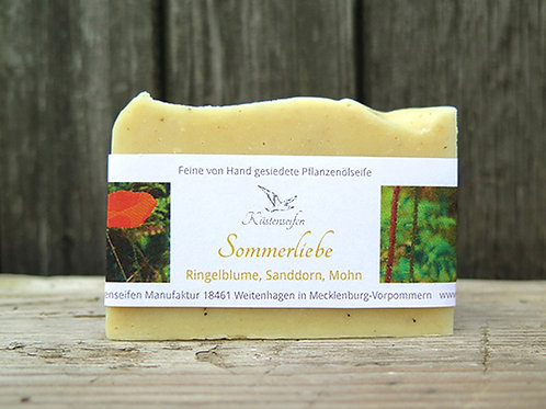 * Sommerliebe mit Ringelblume, Sanddorn & Mohn