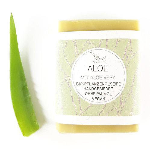 ALOE mit Aloe Vera, Sheabutter und Olivenöl ohne Duft!