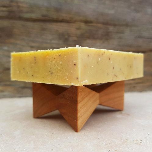 Seifenschale aus Holz - regionales Handwerk