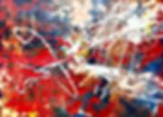 Елена Бегма современные художники. Абстрактная живопись, минимализм, абстракционизм, купить картину в современный интерьер, картины современных художников, белый и красный цвет на картине. Купить современную картину маслом.