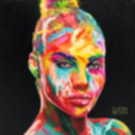 Elena Begma russian painter, oil on canvas portrait Портрет на заказ по фотографии. Современные и стильные портрреты маслом. Купить картину. Портрет на холсте ручная работа.
