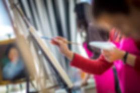 Скидка на обучение рисованию, скидки на мастер-классы по живописи маслом, художественная школа на Таганке