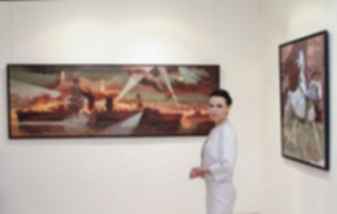 Елена Бегма художник, выставка картин художника, тема войны и истории России в картинах современых художникв, батально-историческая