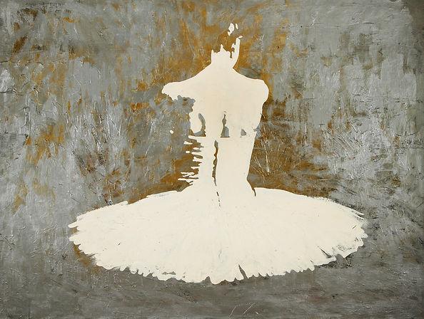 Купить картину маслом. Картина с балериной. Художник Елена Бегма. Картины маслом на тему балета и истории. Картины для интерьера купить в москве.