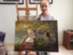 Детская художественная студия Таганская. Обучение рисованию. ИЗО кружок