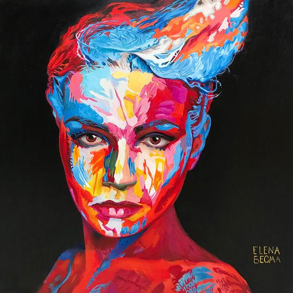 Картина художника Елены Бегма.
