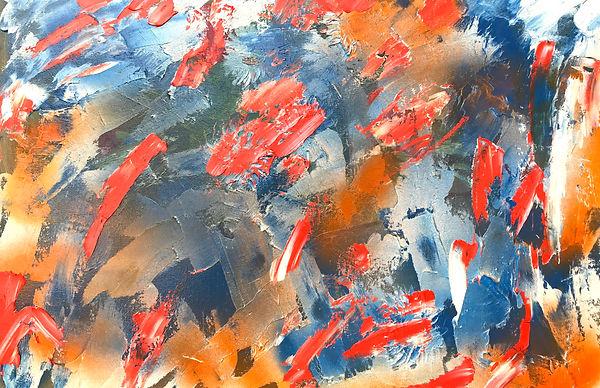 Абстракционизм Елены Бегма. Елена Бегма современные художники. Абстрактная живопись, минимализм, абстракционизм, купить картину в современный интерьер, картины современных художников, белый и красный, оранжевый цвет на картине