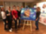 Рисование в офисе и на природе. выездные мастер-классы. заказать художника. Рисование на новогоднем корпоративе, выездные мастер-классы по рисованию, художники с мольбертами, коллективная картина в Москве, художественная студия, Арт -Тимбилдинги по рисованию коллетивных картин в Москве
