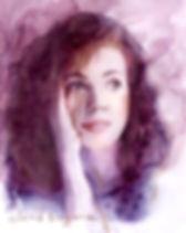 Портрет акварелью на заказ по фотографии. Заказать портрет авкарелью в Москве.