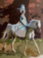 Живопись современных художников, Купить картину маслом в москве, Охота, псовая охота, конная охота, охотница на лошади, амазонка, картины 19 век. Картина девушка на лошади, наездница, всадница на картине маслом, красивая картина с ошадью. Картины для интерьера. Автор картины художник Елена Бегма.