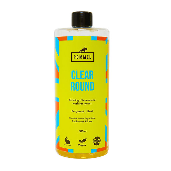 'CLEAR ROUND' Horse Shampoo (10 washes)