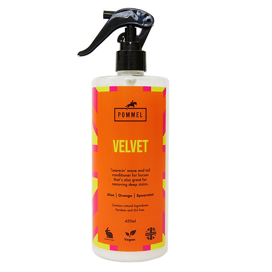 'VELVET' Mane & Tail Spray/Stain Remover