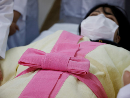 More females are becoming morticians in South Korea as taboo fades