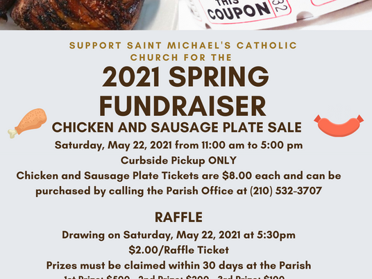 Support the St. Michael Catholic Church Spring Fundraiser!