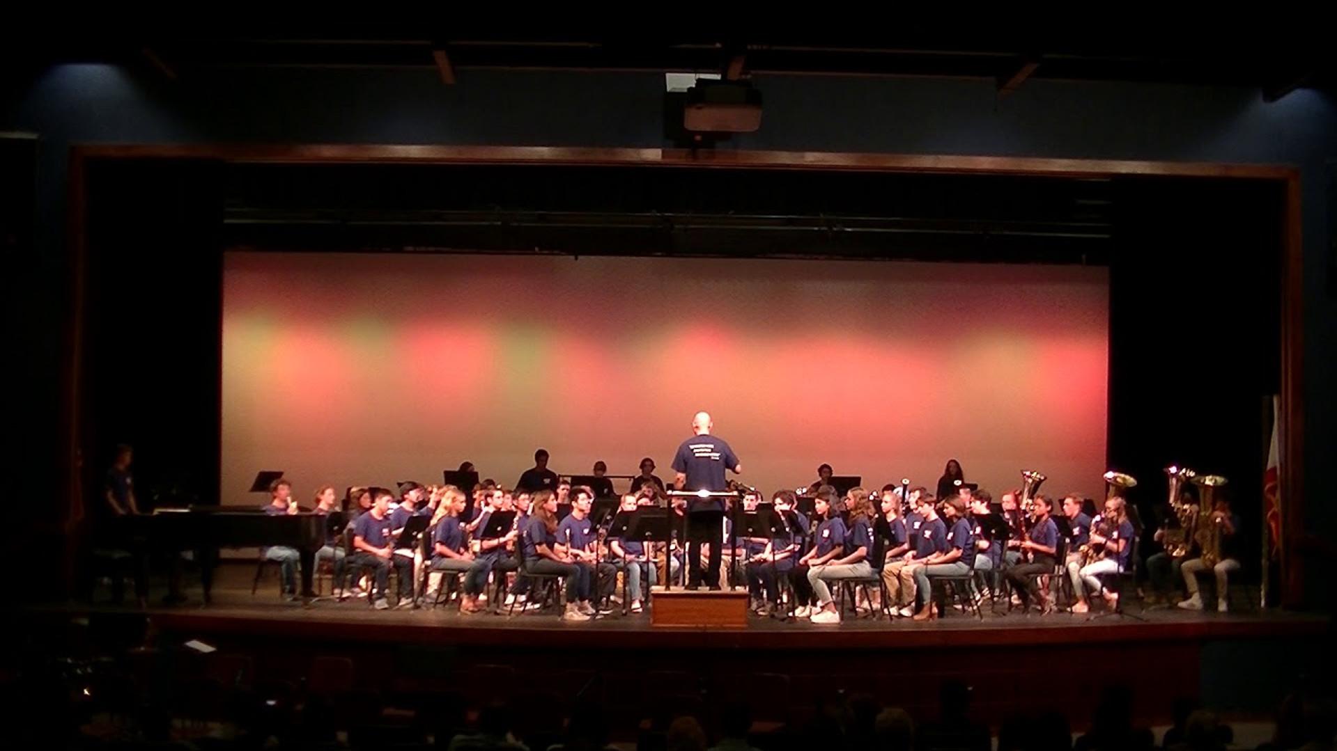 Fall Concert 2019, Symphonic Band